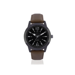Brown Analog Stainless Steel Casual Watch