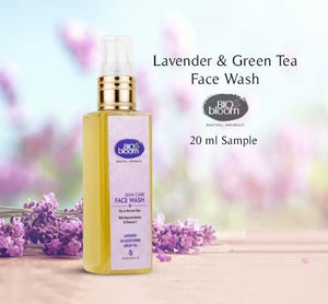 Lavender and Green tea Face wash