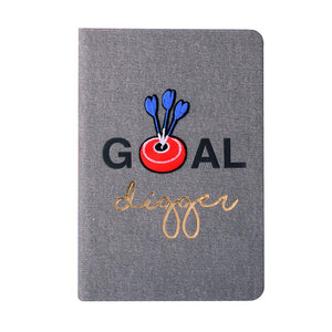 Bull's Eye - Denim Notebook