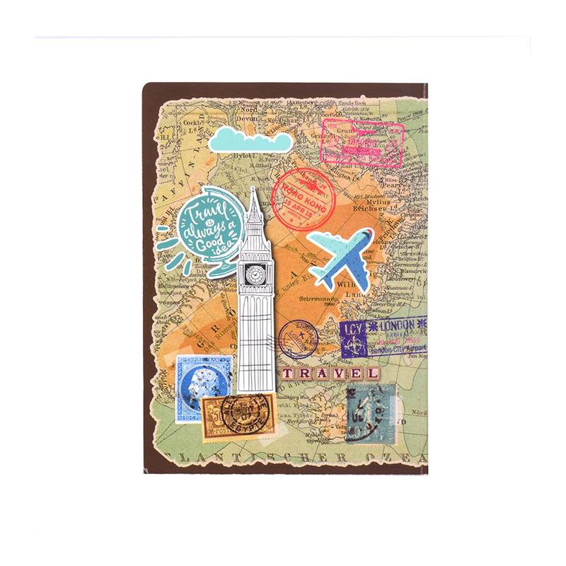 Travelogue Planner Notebook