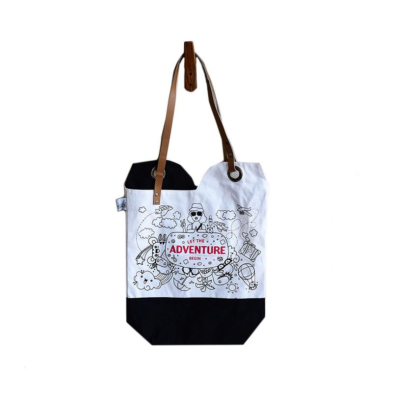 New Adventures Canvas Tote Bag