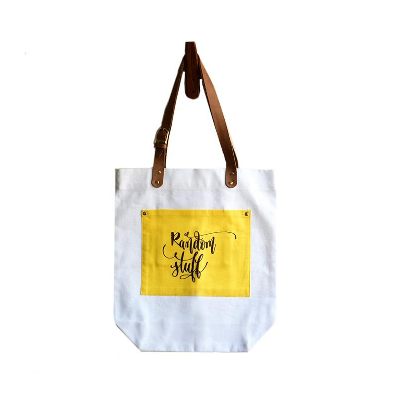 Random Stuff Canvas Tote Bag
