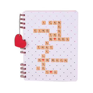 Love Confessions Notebook