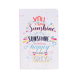 Happiness and Sunshine Notebook