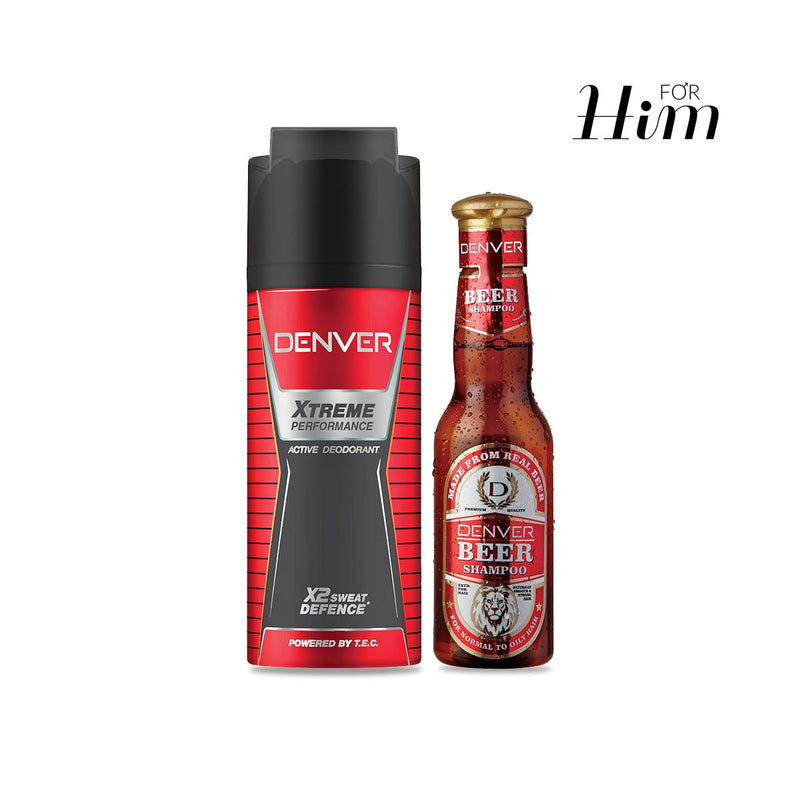 Deo Extreme Performance & Beer Shampoo
