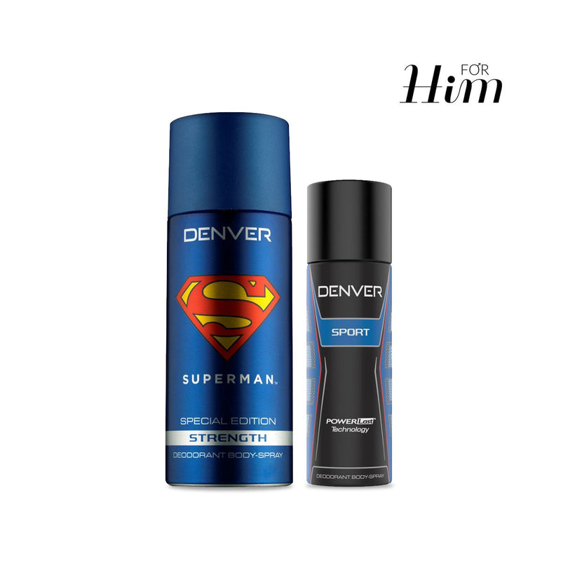 Superman Strength Deo & Sports Deo Nano