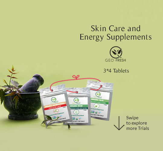 Skin Care and Energy Supplements