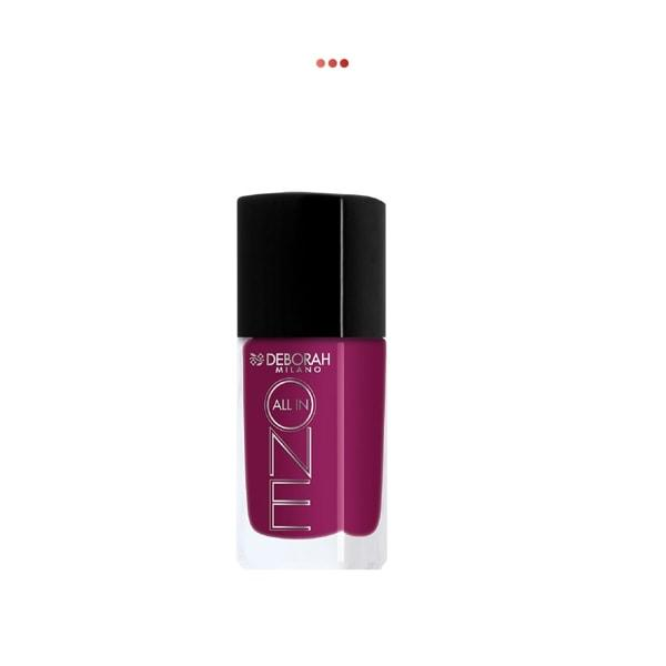 All In One Nail Enamel - 6 Deep Cyclamen