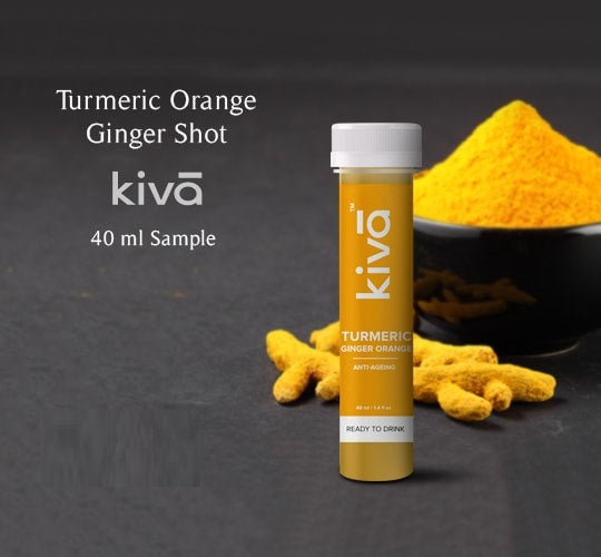 Turmeric Orange Ginger Shot