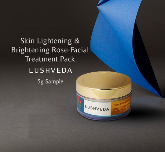 Skin Lightening & Brightening Rose-Facial Treatment Pack