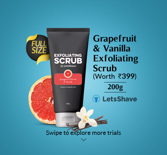 Grapefruit and Vanilla Exfoliating Body Scrub 200g
