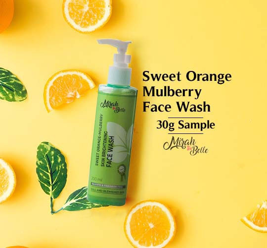 Sweet Orange Face Wash