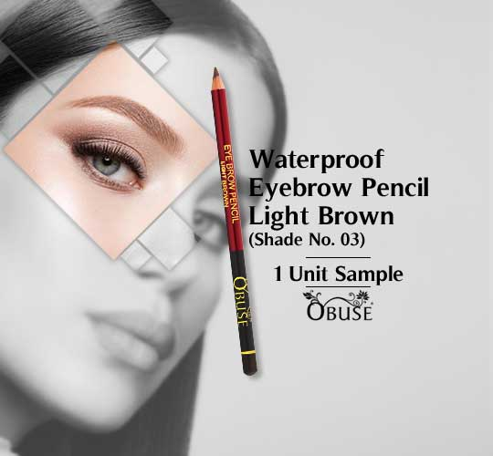 Waterproof Eyebrow Pencil - Light Brown 03