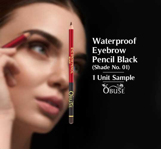 Waterproof Eyebrow Pencil - 01 Black