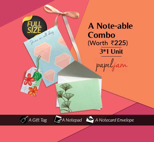 Notepad, Gift Tag & Notecard with Envelop
