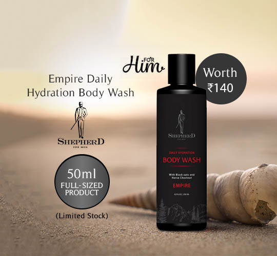 Empire Daily Hydration Body Wash - Shepherd for Men