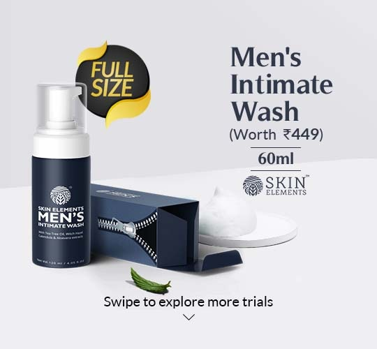 Intimate Wash for Men with Tea Tree Oil- 60ml