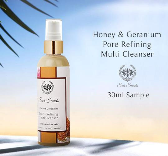 Honey & Geranium Pore Refining Multi Cleanser
