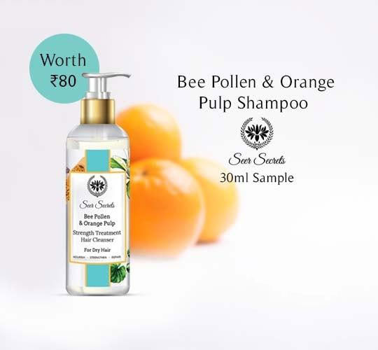 Bee Pollen & Orange Pulp Shampoo