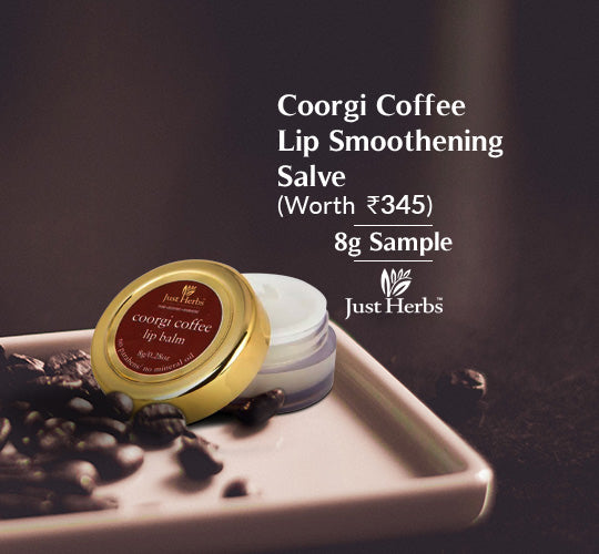 Coorgi Coffee Lip Smoothening Salve