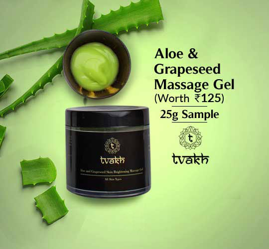 Aloe & Grapeseed Skin Brightening Massage Gel