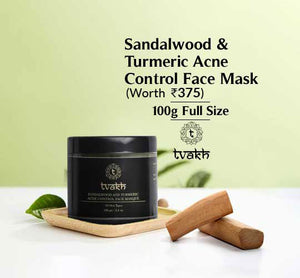 Sandalwood & turmeric Acne Control Face Masque