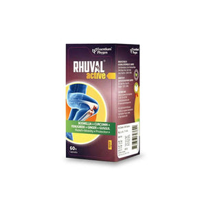 RHUVAL ACTIVE (For Inflammation & Joint Pain Relief)