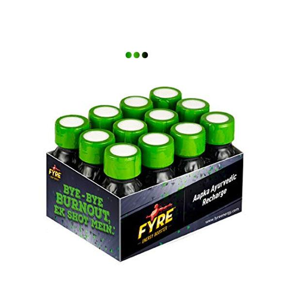 Energy Booster - Green - Pack of 12 bottles