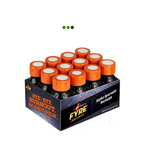 Energy Booster - Orange - Pack of 12 bottles