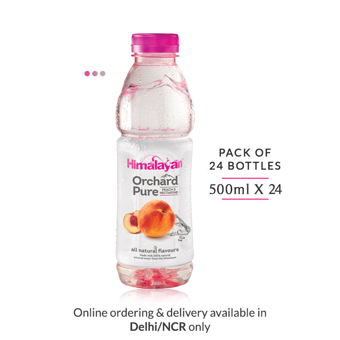 Orchard Pure Flavoured Water | Peach & Nectarine