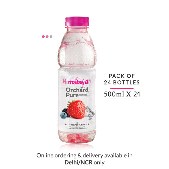 Orchard Pure Flavoured Water | Strawberry & Forest Fruit