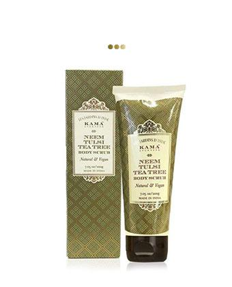 Neem Tulsi Tea Tree Body Scrub