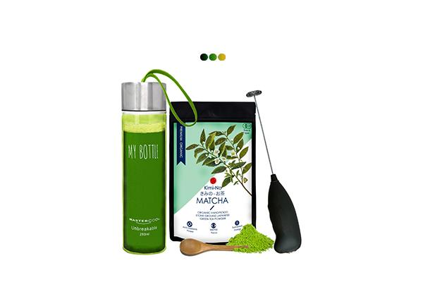 Matcha Green Tea Powder Combo Kit