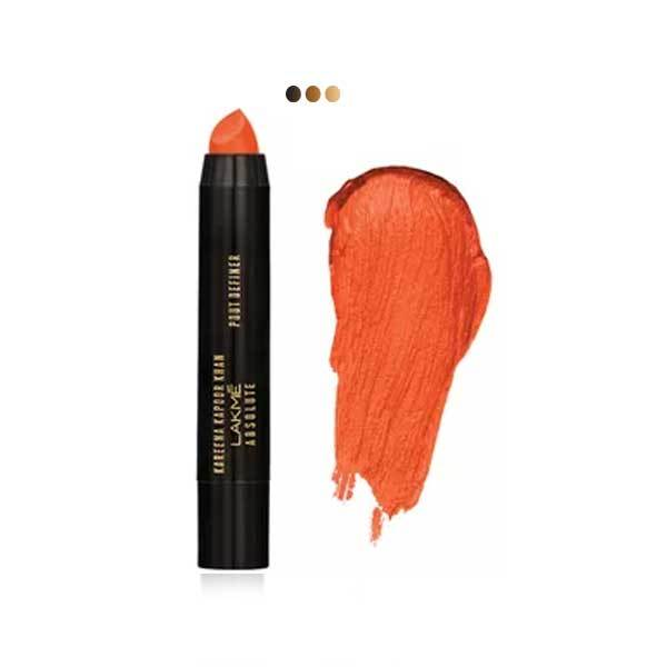 Kareena Kapoor Khan Lakme Absolute Pout Definer, Orange Showgirl