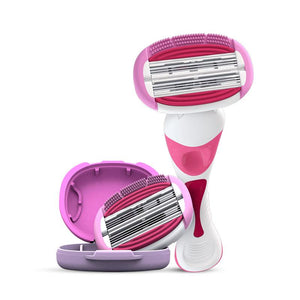 Soft Touch 6 Body Razor Kit for Women