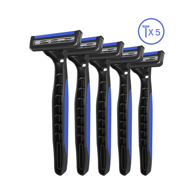Pace 2 Plus Disposable Razor For Men - Pack of 5
