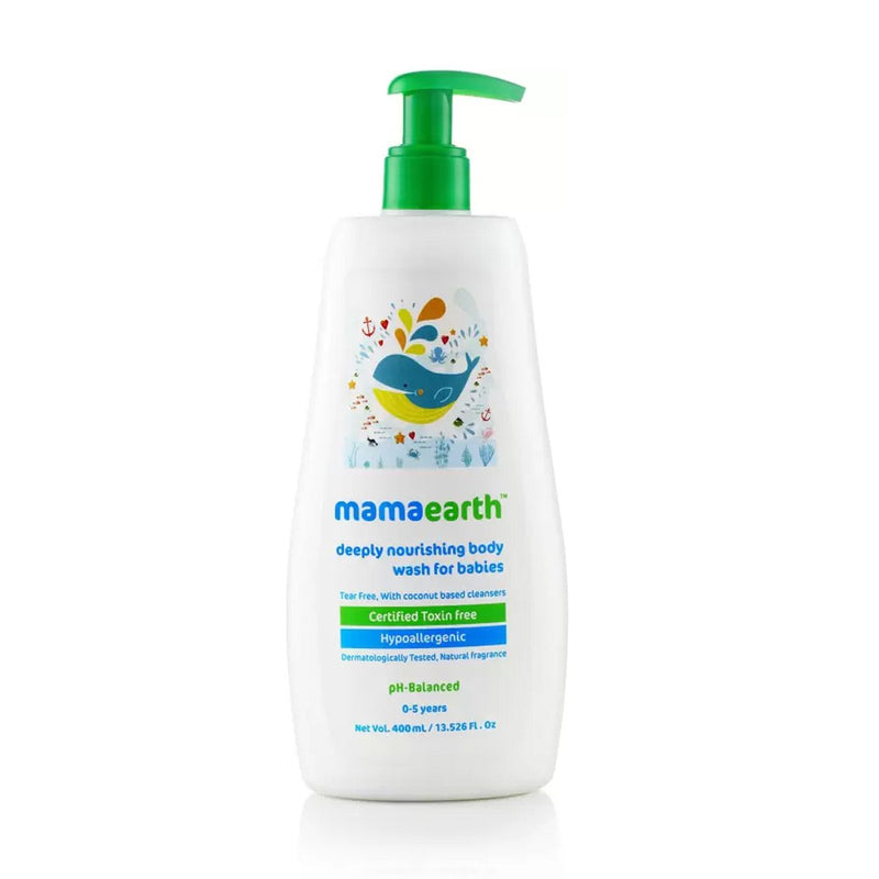 Deeply Nourishing Body Wash for Babies