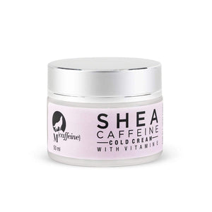 Shea Butter Caffeine Cold Cream with Vitamin E