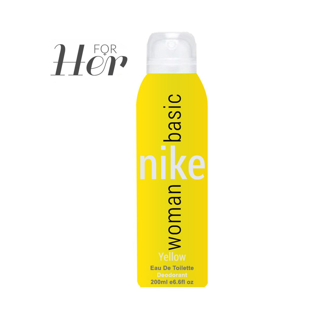 Basic Yellow Woman Deo