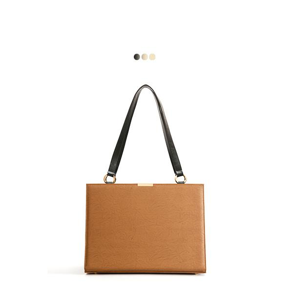 Large Tan Solid Interchangeable Bag (Base+Skin)