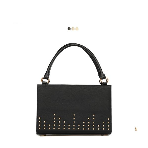 Medium Interchangeable Bag With Stud Detail (Base+Skin)