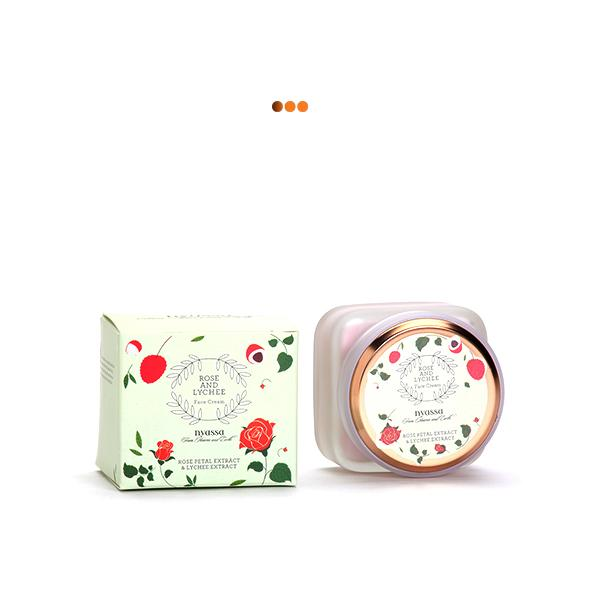 Rose and Lychee Face Cream