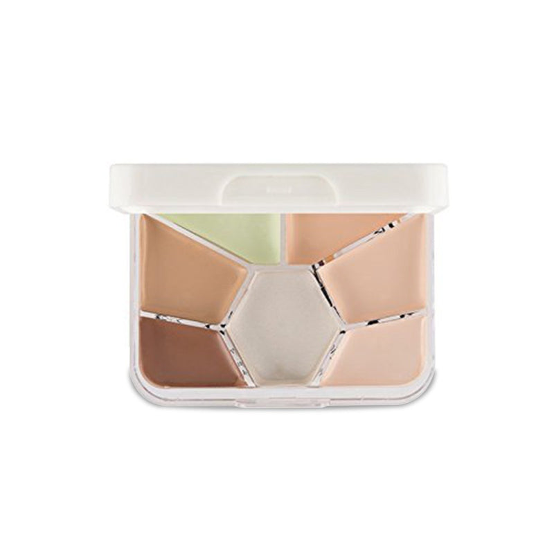 Concealer Highlighter and Contour Palette Travel size - 1234-02
