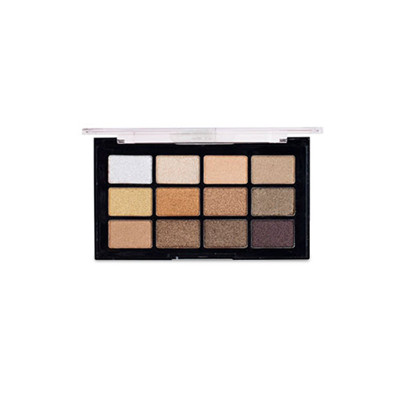 Pro Artist 12 Colors Ultra Pigmented Eyeshadow Palette - 1369-01