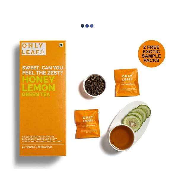 Honey Lemon Digestive Aid Green Tea | 25 Teabags + 2 Free Samples