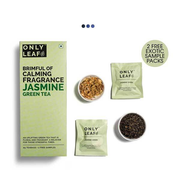 Jasmine Stress-Buster Green Tea | 25 Teabags + 2 Free Samples