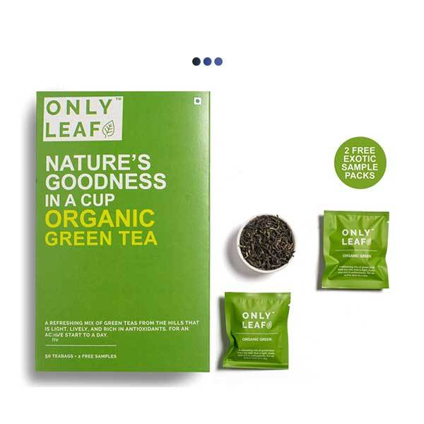 Organic Weightloss Green Tea | 50 Teabags + 2 Free Samples