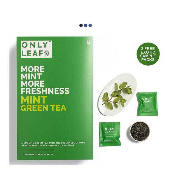 Mint Immunity Booster Green Tea | 50 Teabags + 2 Free Samples