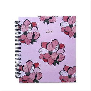 2019 Annual Planner-Floral Bloom