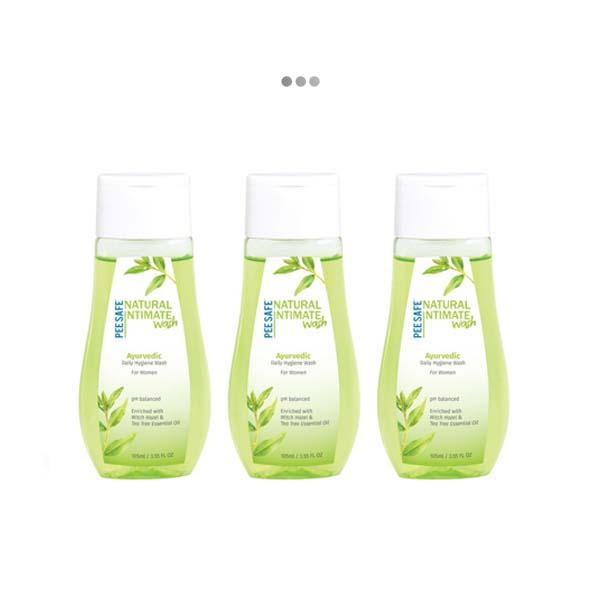 Natural Intimate Wash 105 ML - Pack of 3
